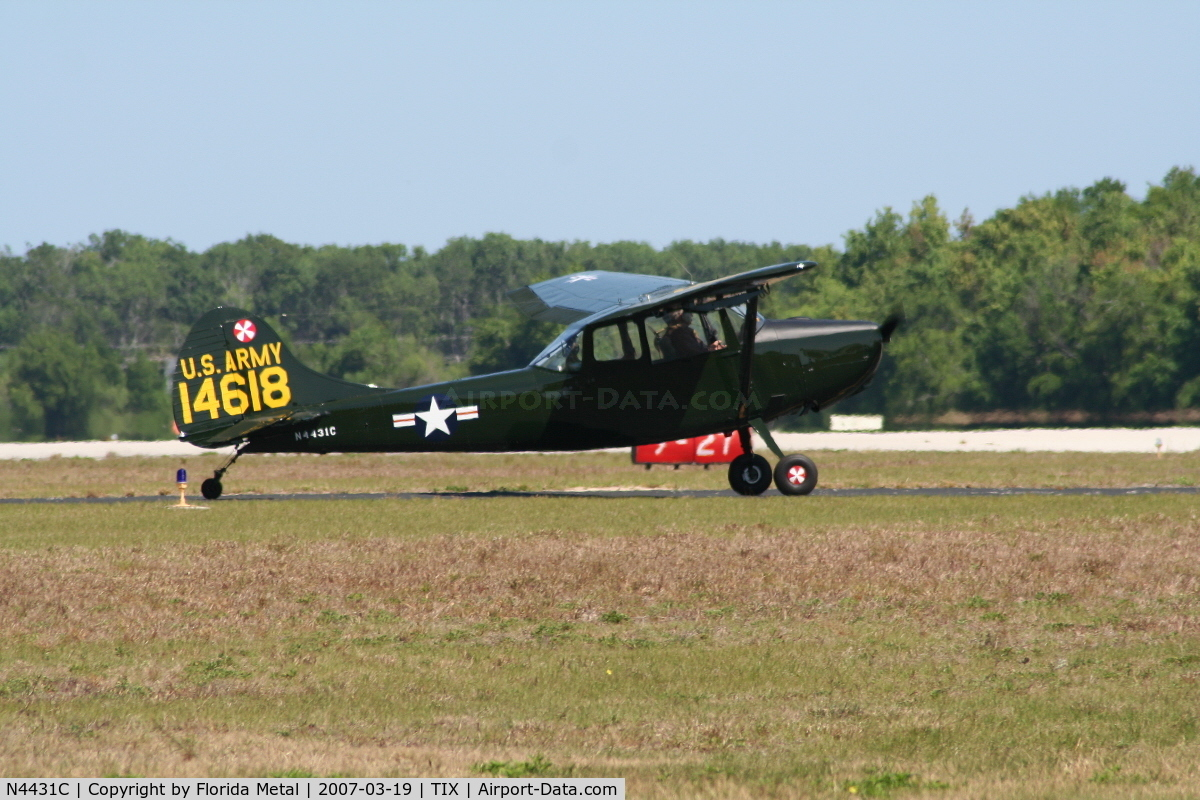N4431C, Cessna L-19E Bird Dog C/N 24549, L-19