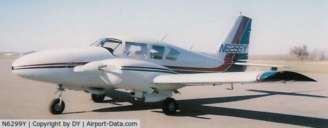N6299Y, 1966 Piper PA-23-250 Aztec C/N 27-3550, 1966 Piper PA23-250 Aztec C