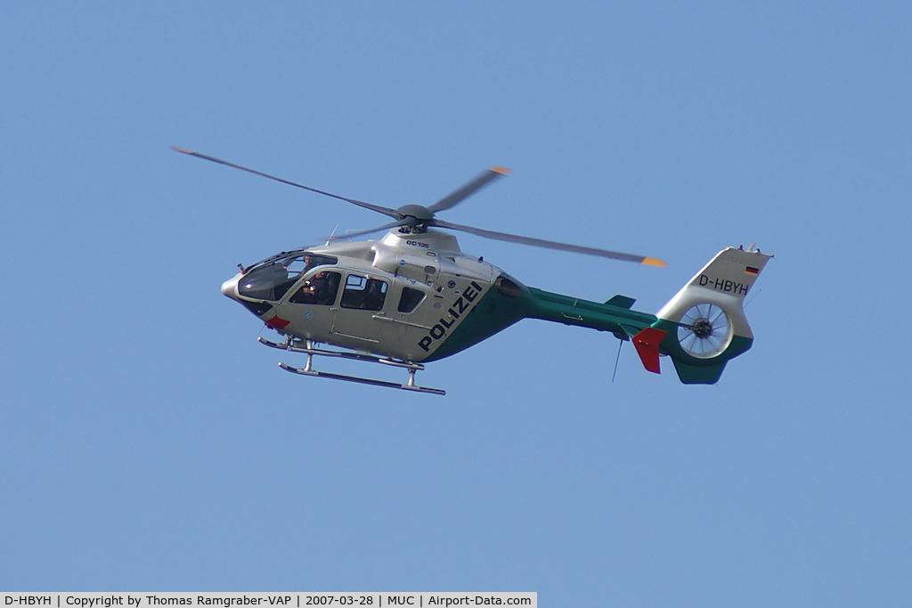 D-HBYH, Eurocopter EC-135P-2 C/N 0100, German Police Eurocopter EC-135