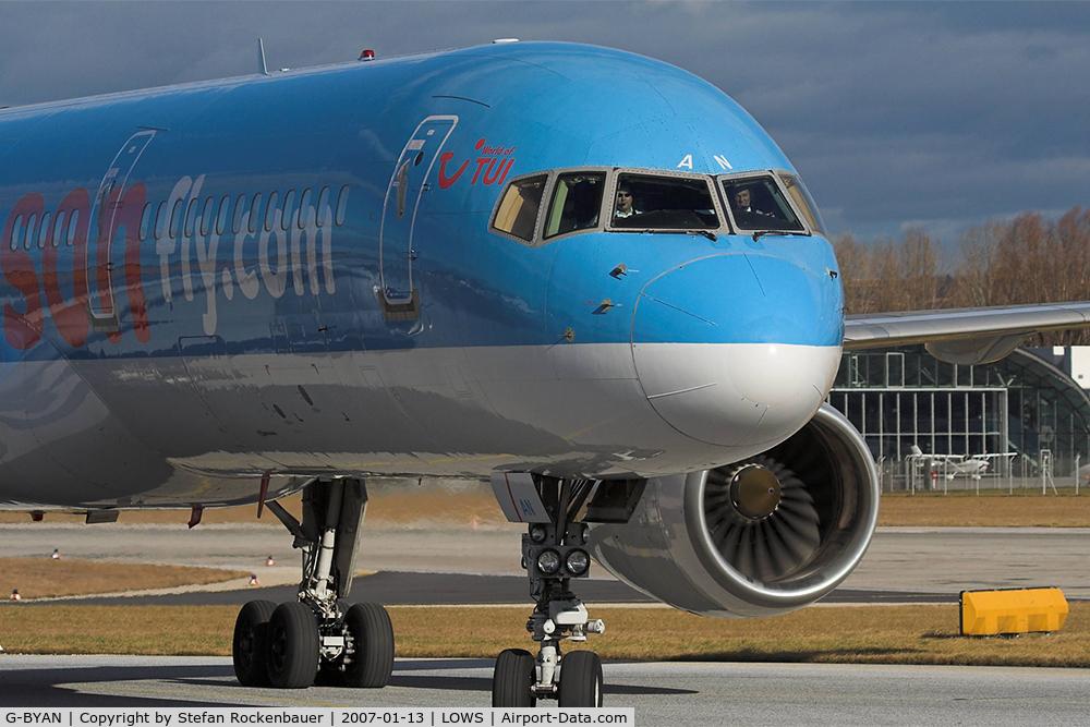 G-BYAN, 1994 Boeing 757-204 C/N 27219, Invasion of british tourists.