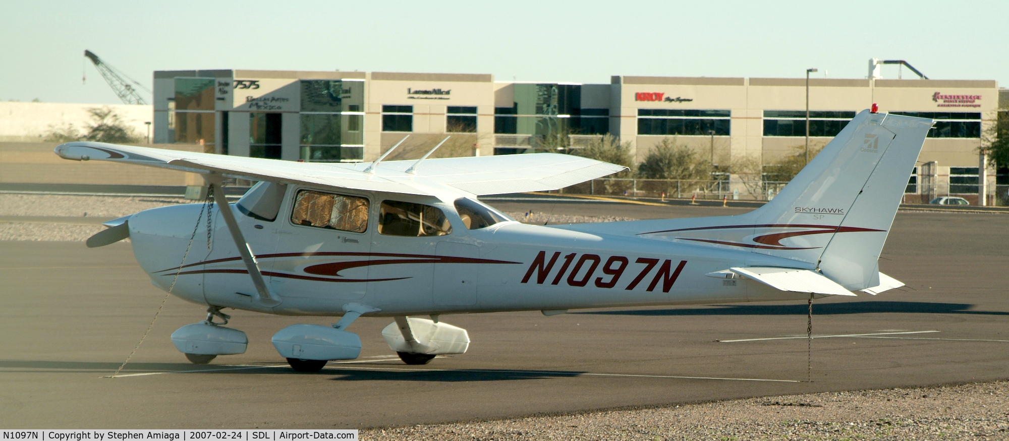 N1097N, 2005 Cessna 172S Skyhawk C/N 172S9821, Beautiful new Skyhawk...
