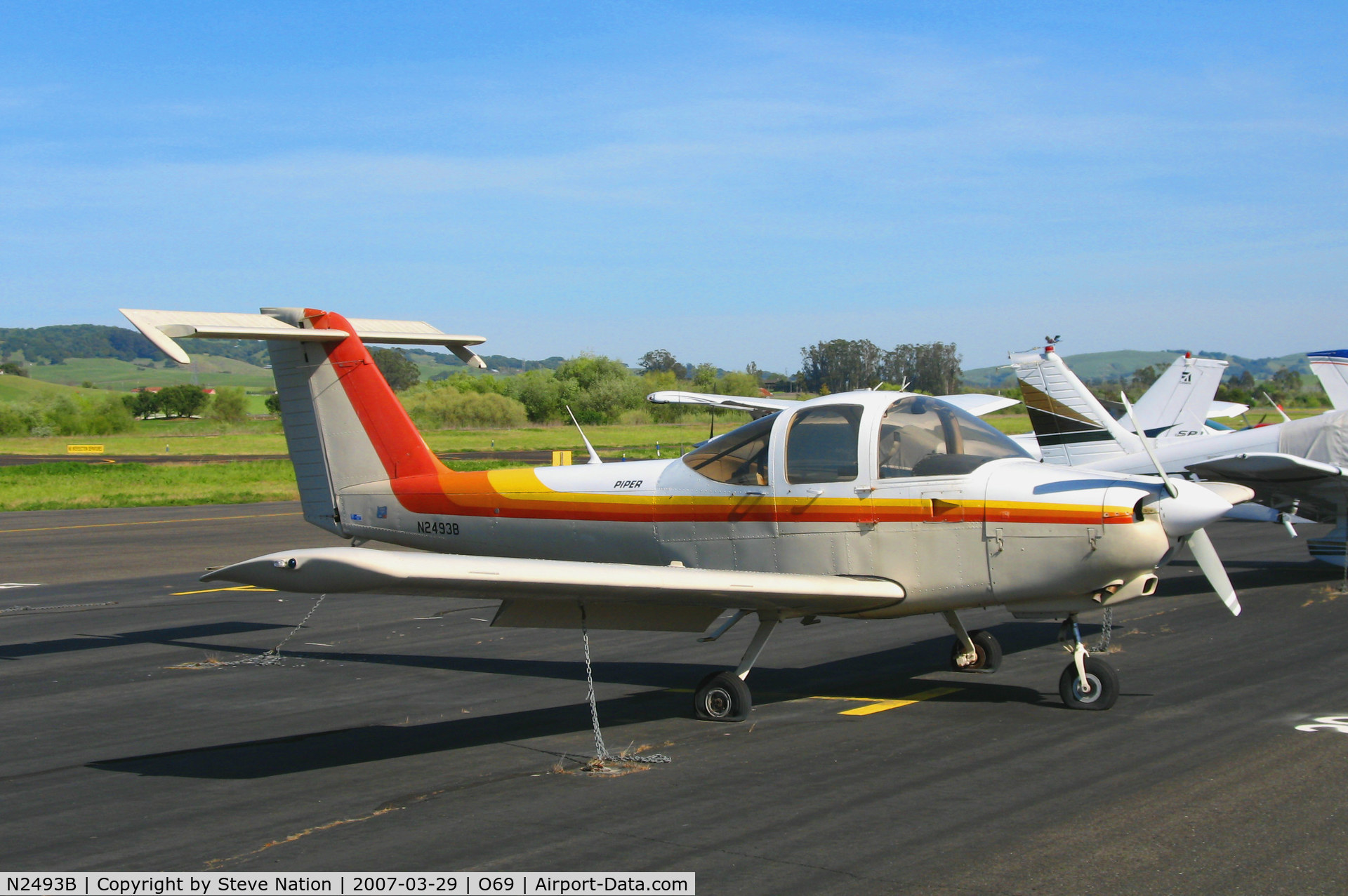 N2493B, 1978 Piper PA-38-112 C/N 38-79A0089, 1978 Piper PA-38-112 @ Petaluma, CA