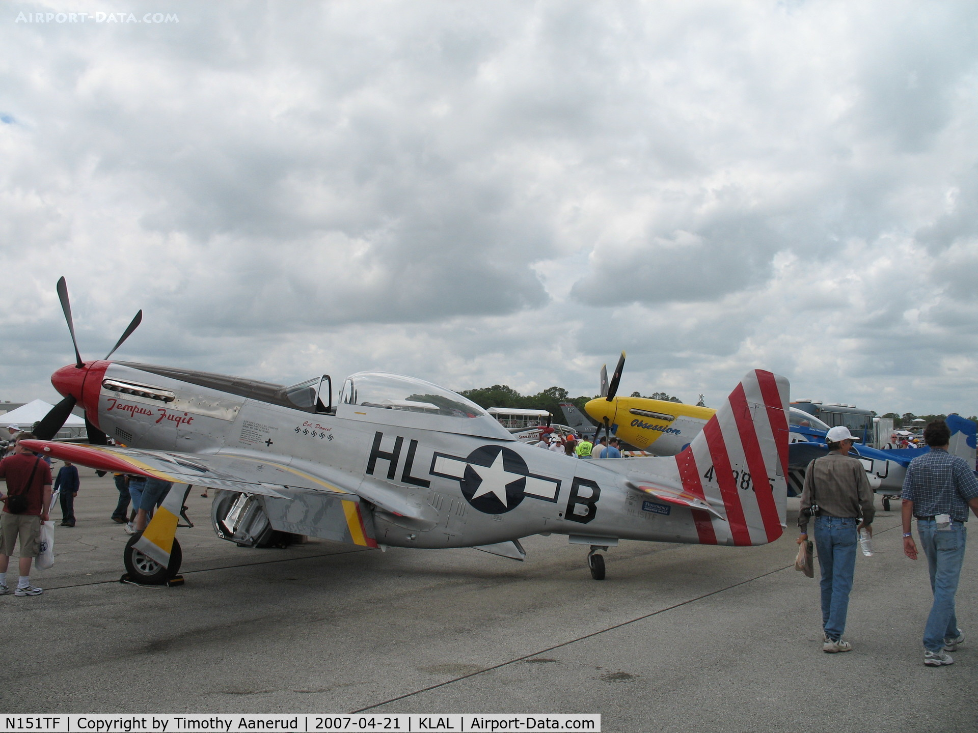 N151TF, 1944 North American P-51D Mustang C/N 122-31591/44-63865, Sun-n-Fun 2007