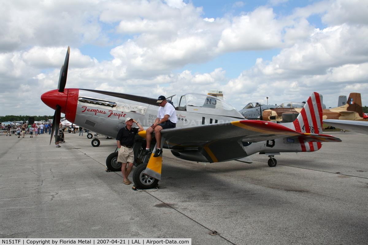 N151TF, 1944 North American P-51D Mustang C/N 122-31591/44-63865, P-51 Tempus Fugit