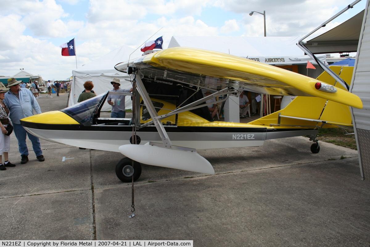 N221EZ, 2006 Progressive Aerodyne Searey C/N ID403C, Searey