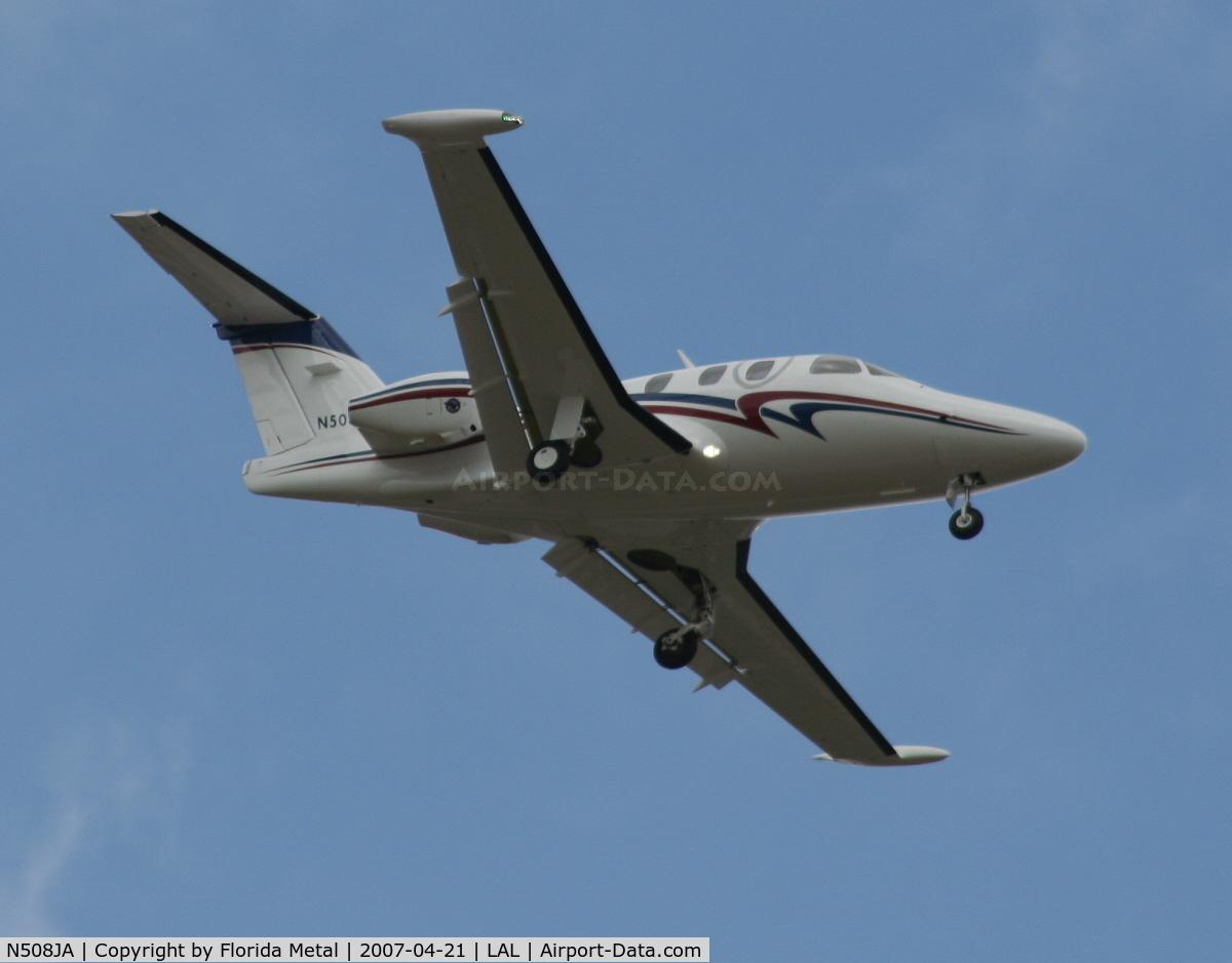 N508JA, 2006 Eclipse Aviation Corp EA500 C/N 000001, E500