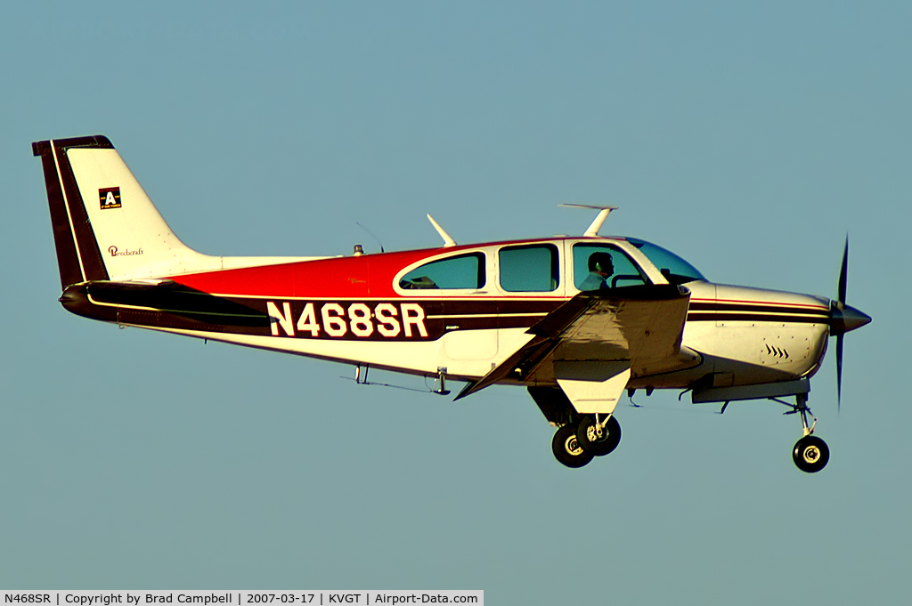 N468SR, 1969 Beech E33A C/N CE-276, Privately Owned - Las Vegas, Nevada / 1969 Beech E33A