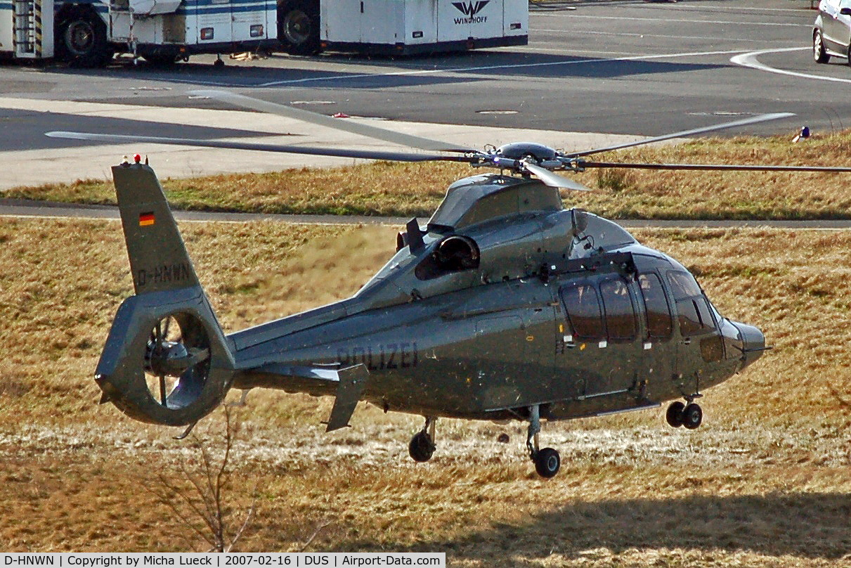 D-HNWN, 2003 Eurocopter EC-155B C/N 6643, Taking off