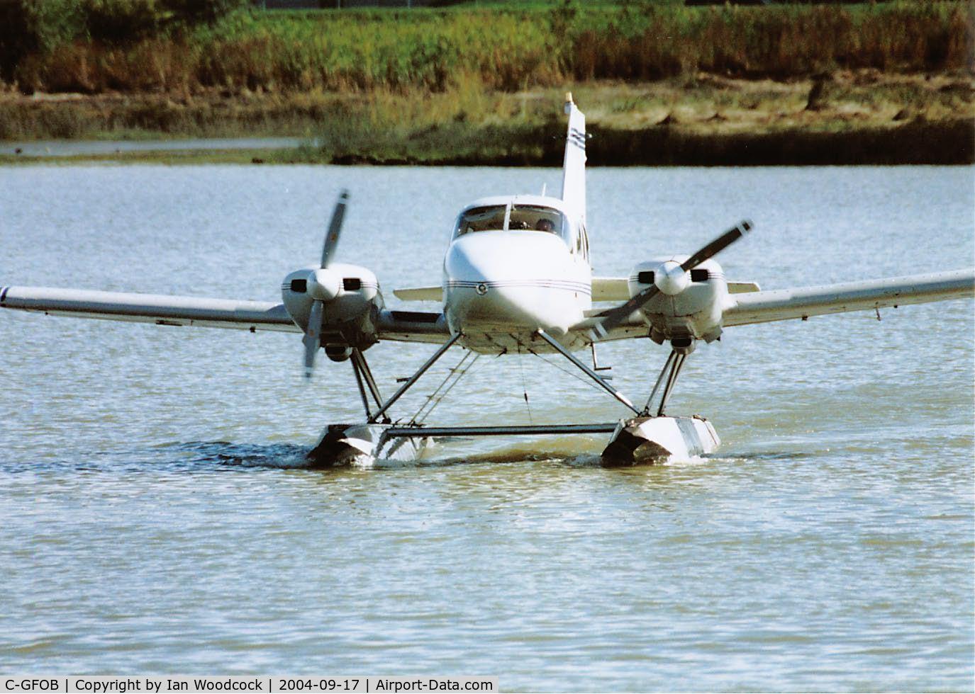 C-GFOB, 1969 Piper PA-23-250 Aztec C/N 27-4000, PA-23 250/Vancouver