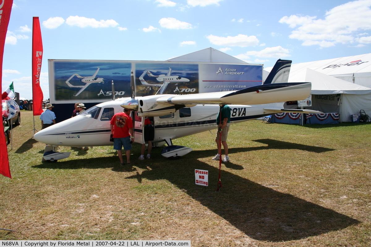 N68VA, 2007 Vulcanair P-68C C/N 440/C, P68C