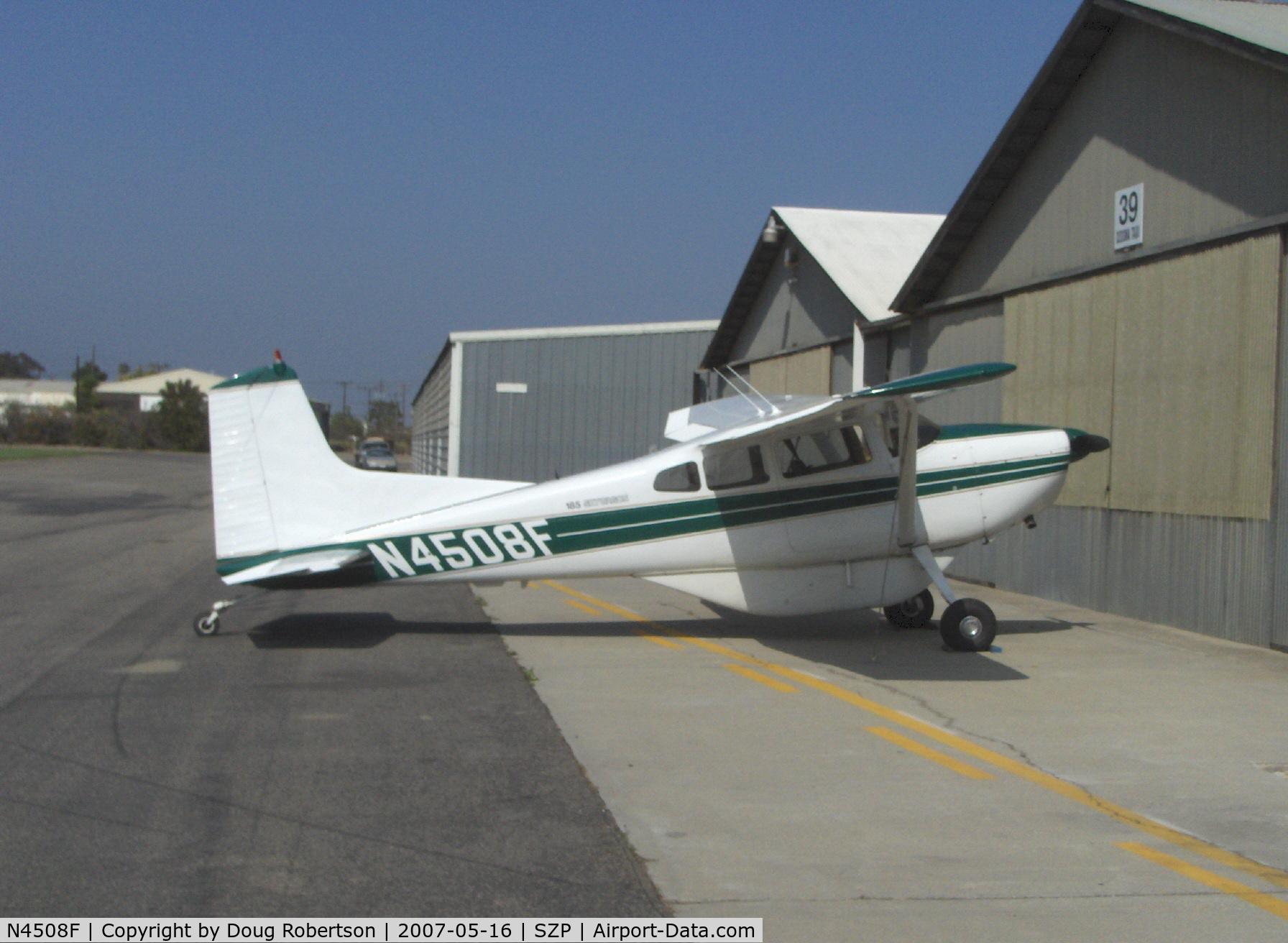 Aircraft N4508F (1966 Cessna 185E Skywagon C/N 185-0990