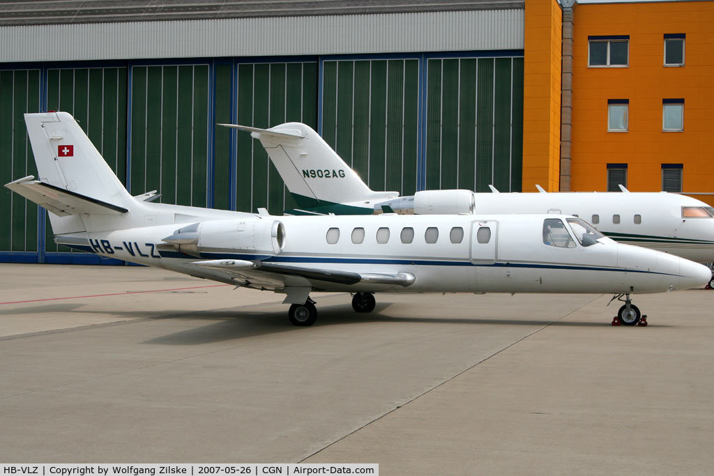 HB-VLZ, 1997 Cessna 560 Citation Encore C/N 560-0446, visitor