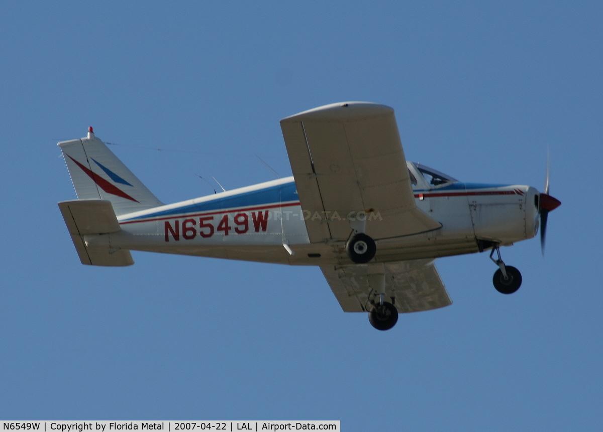 N6549W, 1965 Piper PA-28-140 C/N 28-20628, Pa-28-140