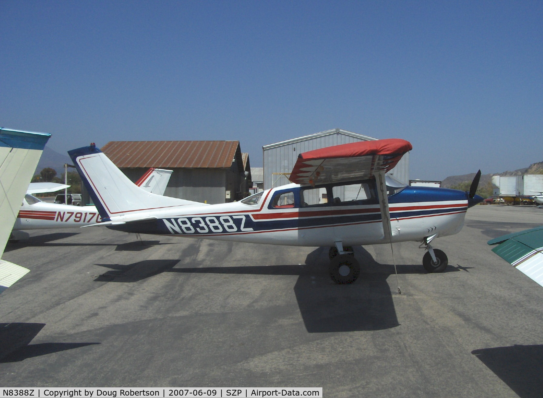 N8388Z, 1963 Cessna 210-5 C/N 205-0388, 1963 Cessna 210-5 (205) UTILINE, fixed gear version of C210, Continental IO-470-E 260 Hp