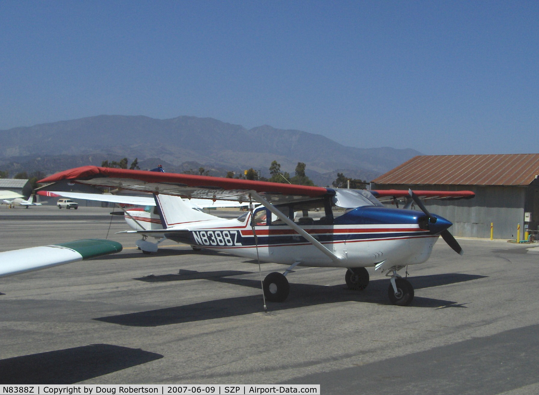 N8388Z, 1963 Cessna 210-5 C/N 205-0388, 1963 Cessna 210-5 (205) UTILINE (fixed gear version of C210) Continental IO-470-E 260 Hp