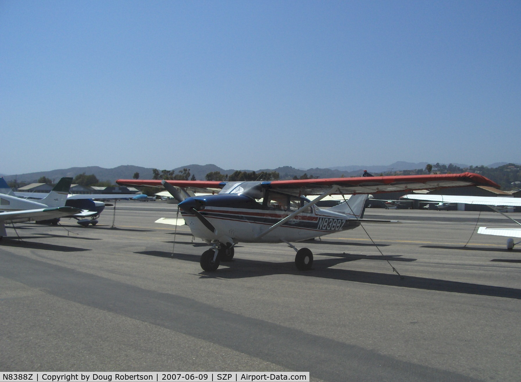 N8388Z, 1963 Cessna 210-5 C/N 205-0388, 1963 Cessna 210-5 (205) UTILINE (fixed gear version of C210) Continental IO-470-E 260 Hp