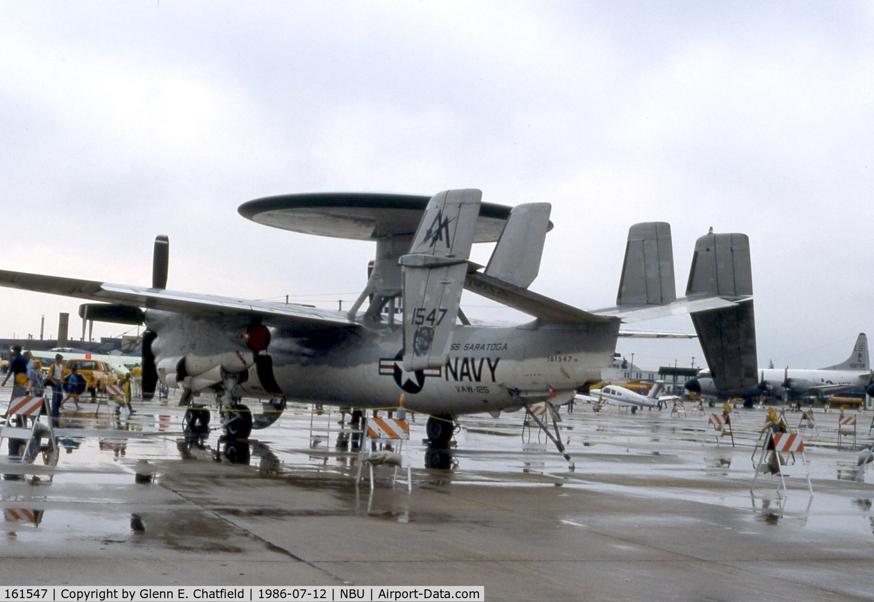 161547, Grumman E-2C Hawkeye C/N A080, E-2C at the open house