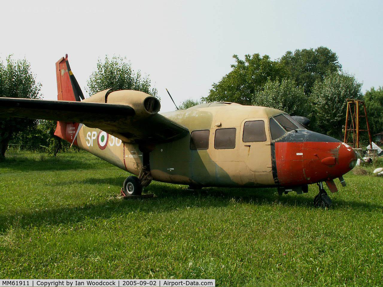MM61911, Piaggio P-166ML-1 C/N 423/72, Piaggio P.166 ML1/Preserved/San Possidonio