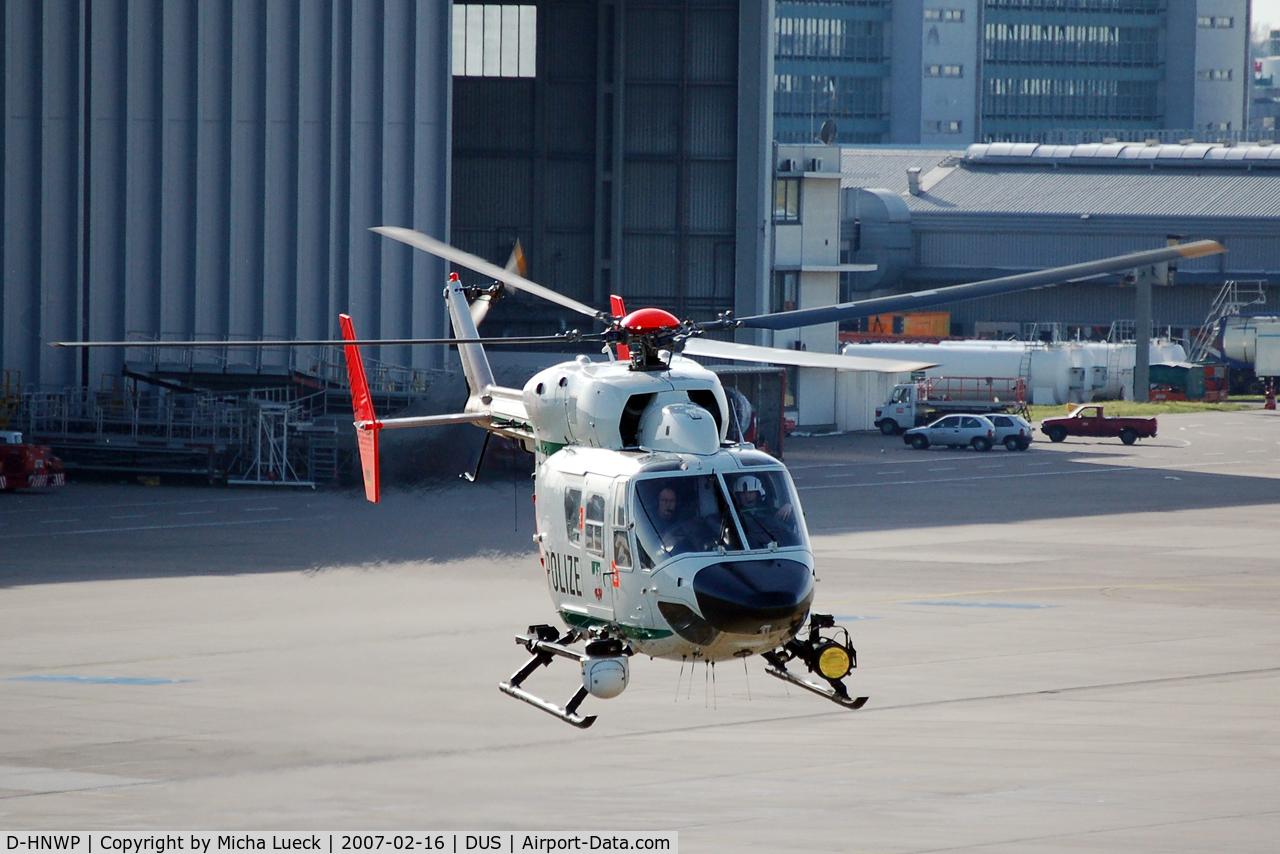 D-HNWP, Eurocopter-Kawasaki BK-117C-1 C/N 7553, Taking off