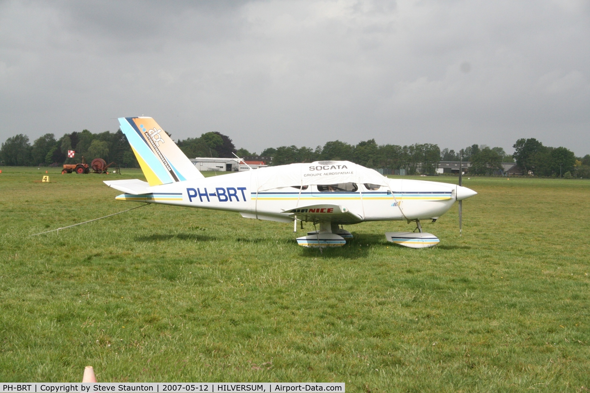 PH-BRT, Socata TB-9 GA C/N 125, Taken on a recent Aeroprint tour