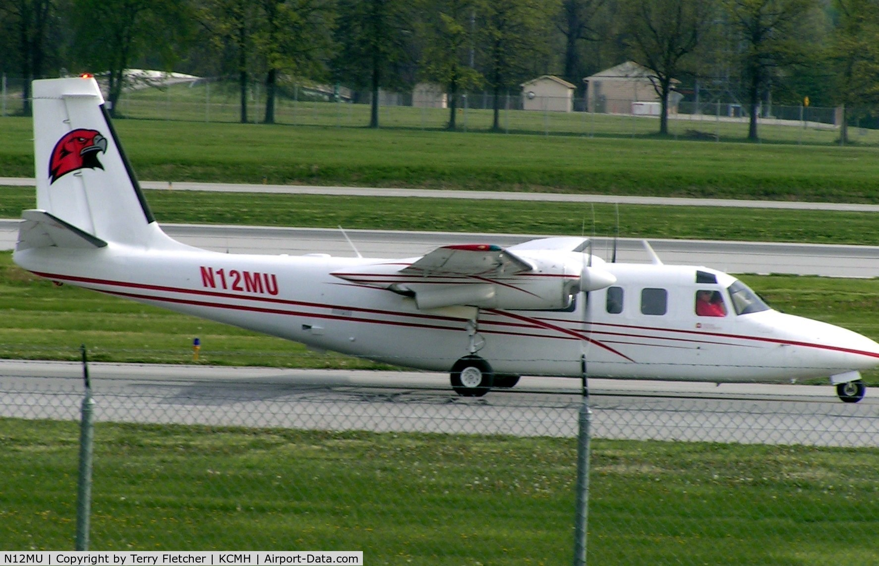 N12MU, 1971 Aero Commander 681 Hawk Commander C/N 6051, AC681 @ Columbus Ohio