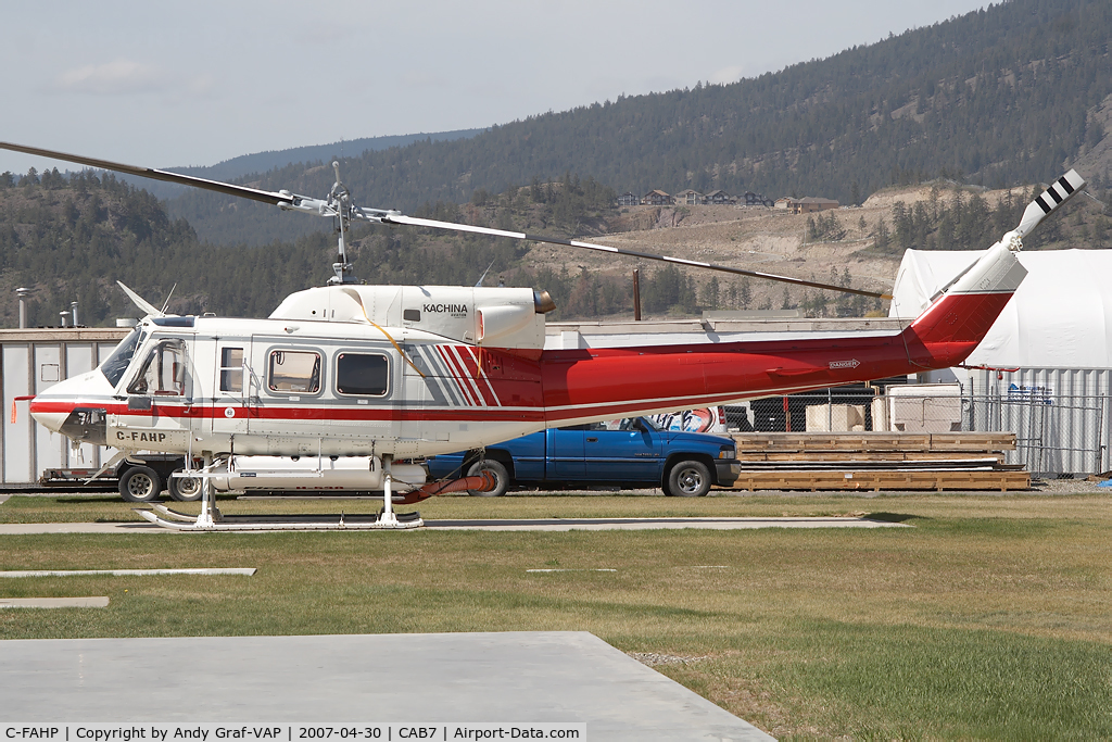 C-FAHP, 1979 Bell 212 C/N 30933, Alpine Helicopter Bell 212