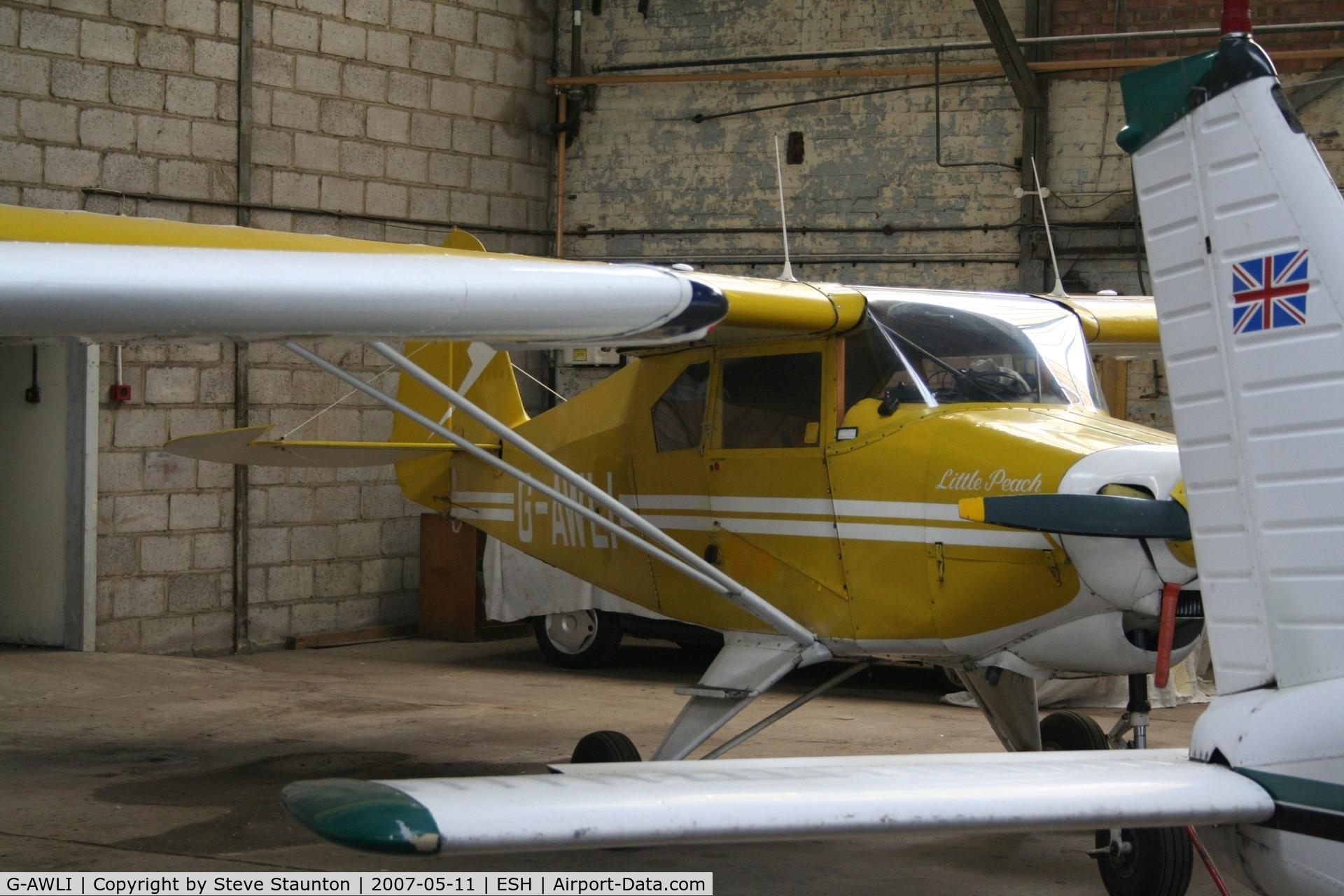 G-AWLI, 1957 Piper PA-22-150 Tri-Pacer C/N 22-5083, Taken on a recent base tour at Shoreham