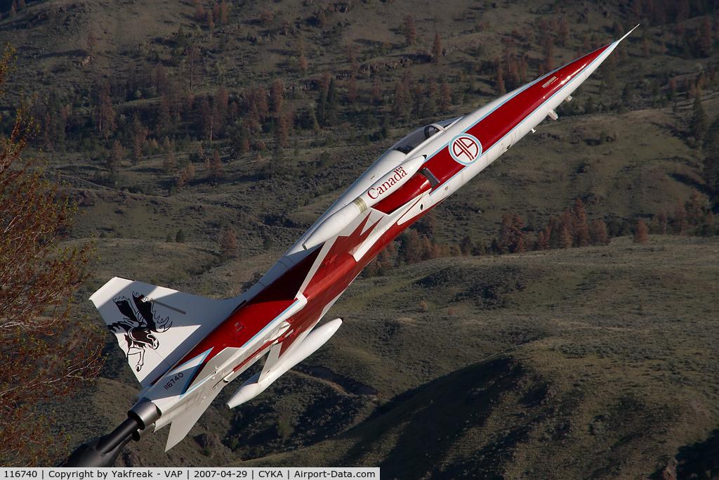 116740, Canadair CF-5A C/N 1040, Canadian Air Force F5 Tiger