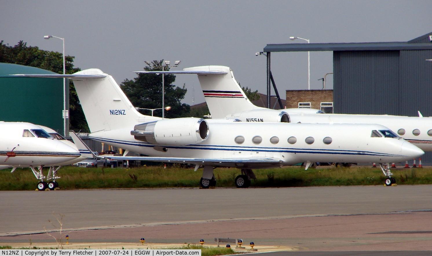 N12NZ, 1999 Gulfstream Aerospace G-IV C/N 1376, Gulfstream G1159C