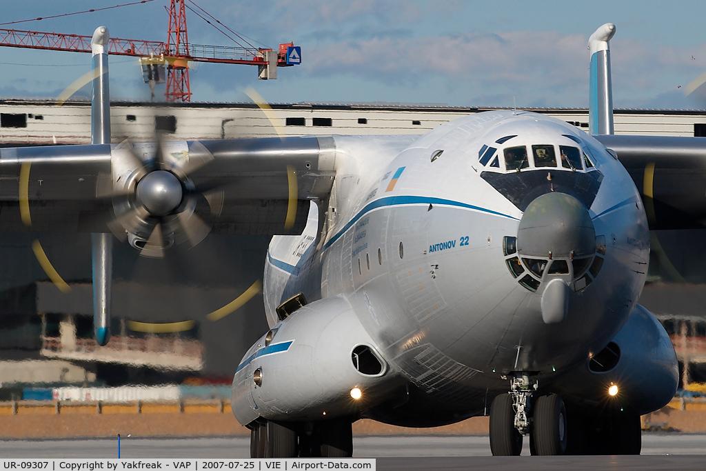 UR-09307, 1974 Antonov An-22 Antei C/N 043481244, Antonov Design Bureau Antonov 22