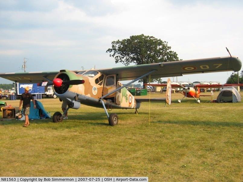 N81563, Max Holste MH-1521M Broussard C/N 192, Airventure '07