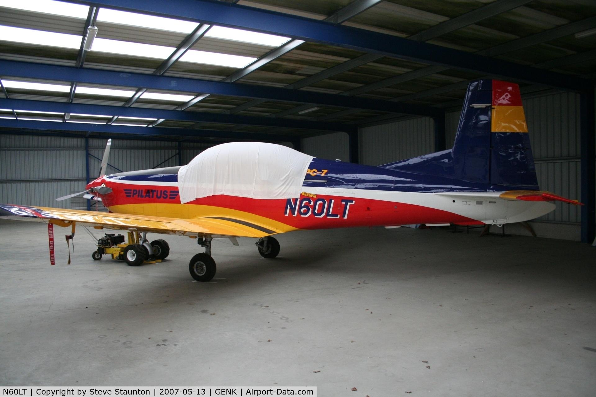 N60LT, 1999 Pilatus PC-7 C/N 615, Taken on an Aeroprint tour @ Genk