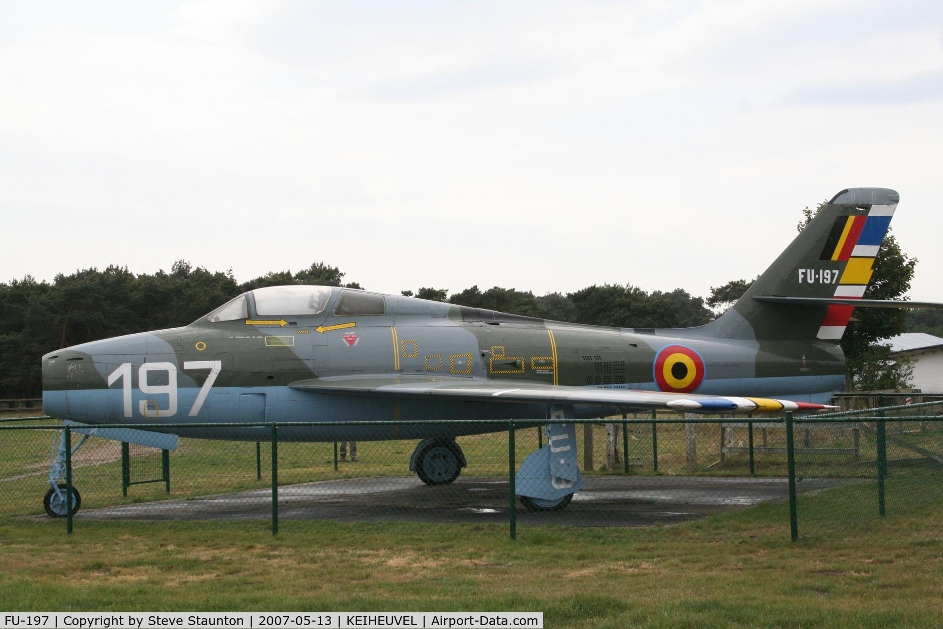 FU-197, Republic F-84F Thunderstreak C/N Not found (52-6584), Taken on an Aeroprint tour @ Keiheuvel