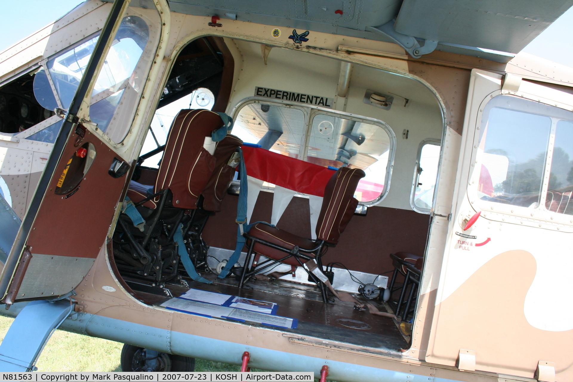 N81563, 1959 Max Holste MH-1521M Broussard C/N 192, MH 1521 Broussard
