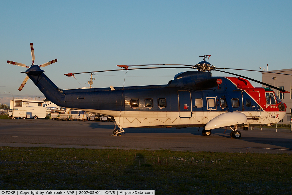 C-FOKP, 1965 Sikorsky S-61N C/N 61297, CHC Sikorsky 61