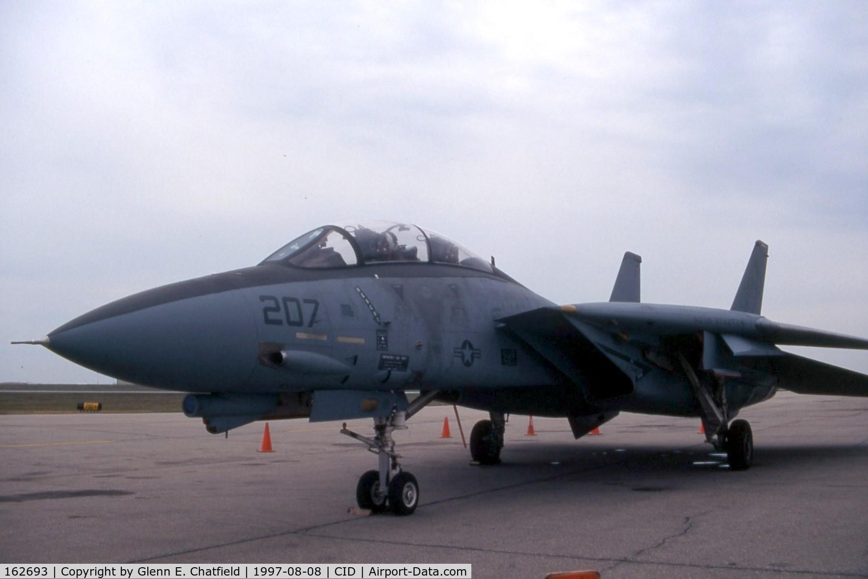 162693, Grumman F-14B Tomcat C/N 539, F-14B visiting