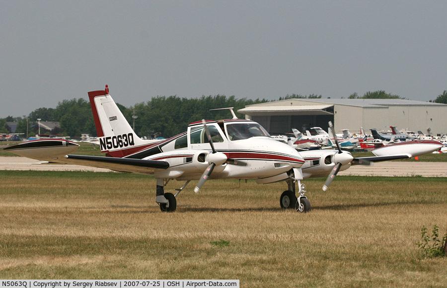 N5063Q, 1968 Cessna 310N C/N 310N-0163, EAA AirVenture 2007