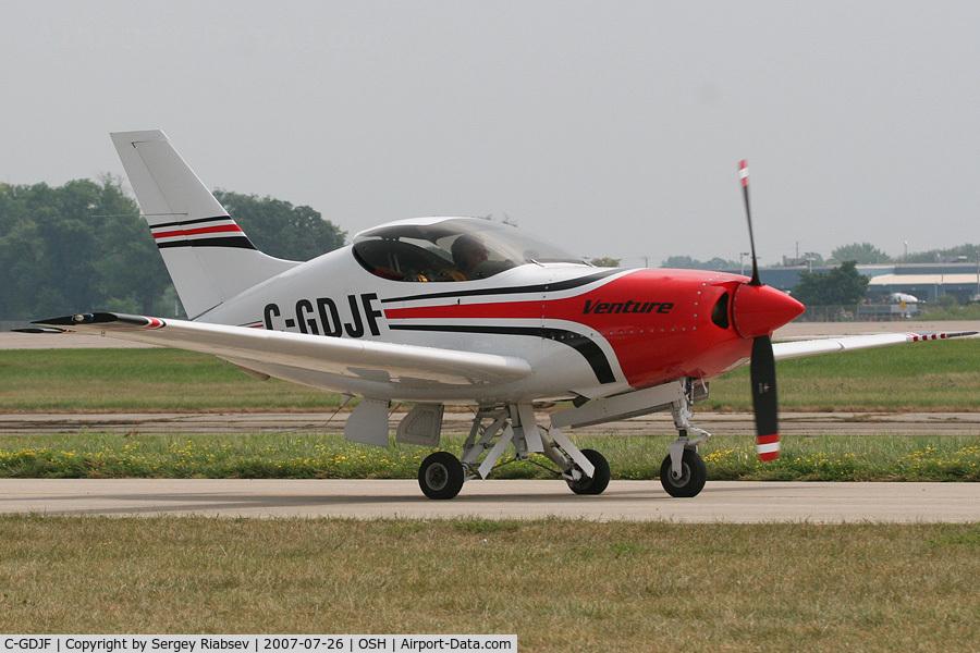 C-GDJF, 1998 Questair Venture 20 C/N 061, EAA AirVenture 2007