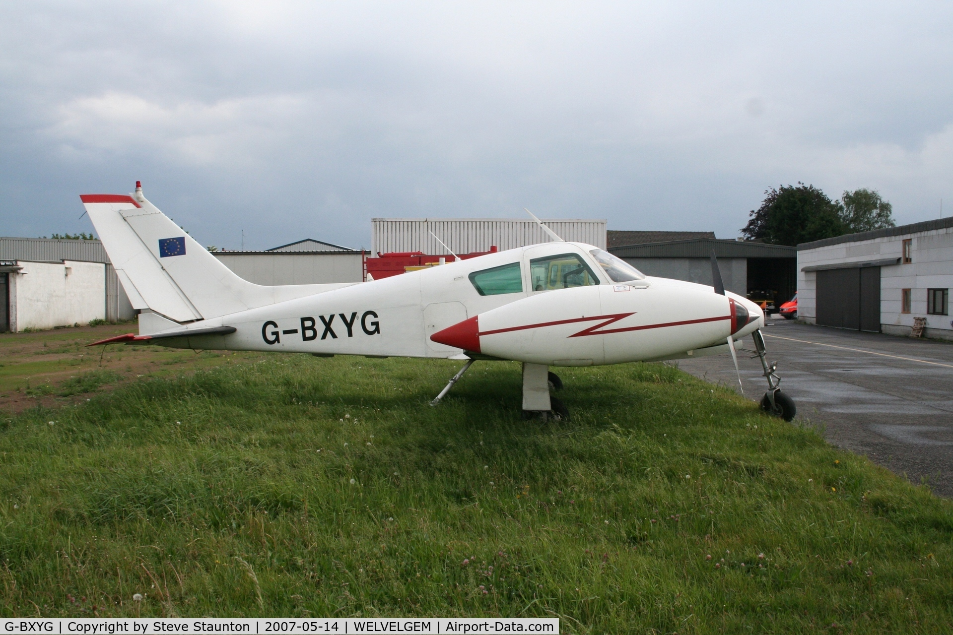 G-BXYG, 1960 Cessna 310D C/N 39089, Taken on a recent Aeroprint tour @ Wevelgem