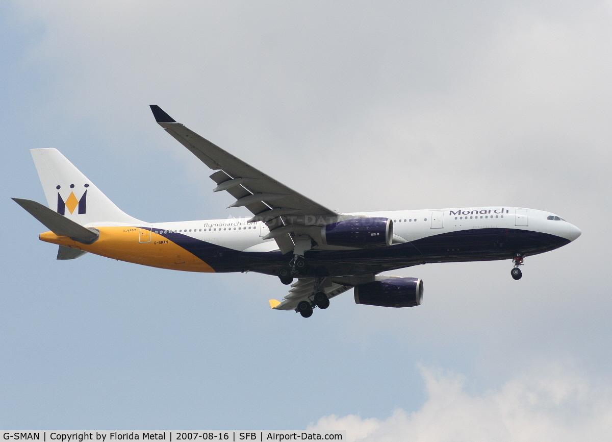 G-SMAN, 1999 Airbus A330-243 C/N 261, Monarch