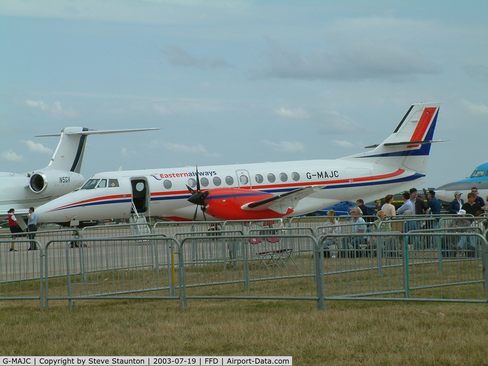 G-MAJC, 1992 British Aerospace Jetstream 41 C/N 41005, Royal International Air Tattoo 2003