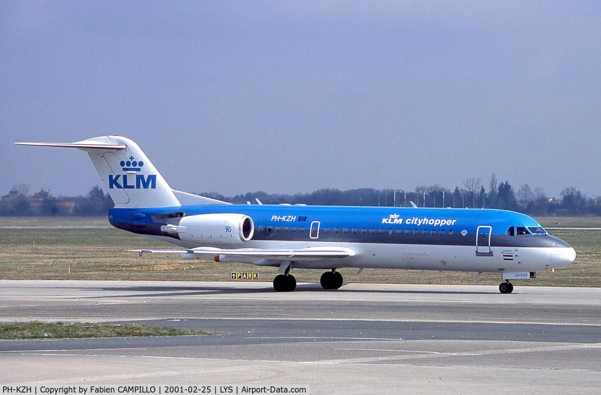 PH-KZH, 1997 Fokker 70 (F-28-0070) C/N 11583, KLM Cityhopper