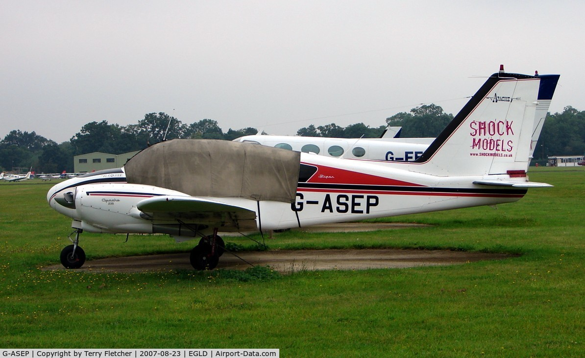 G-ASEP, 1963 Piper PA-23-235 Apache C/N 27-541, Piper PA-23-235