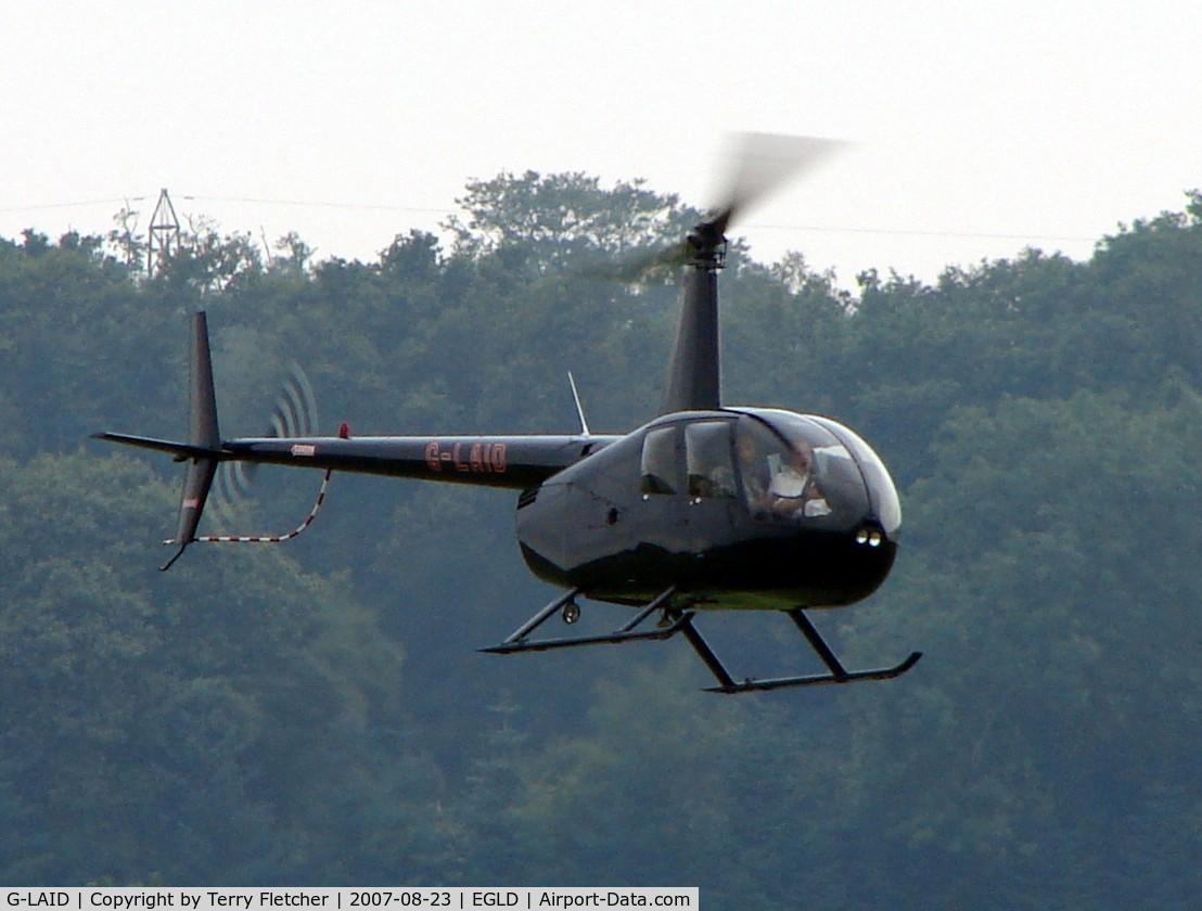 G-LAID, 2006 Robinson R44 Raven II C/N 11377, Robinson R44II