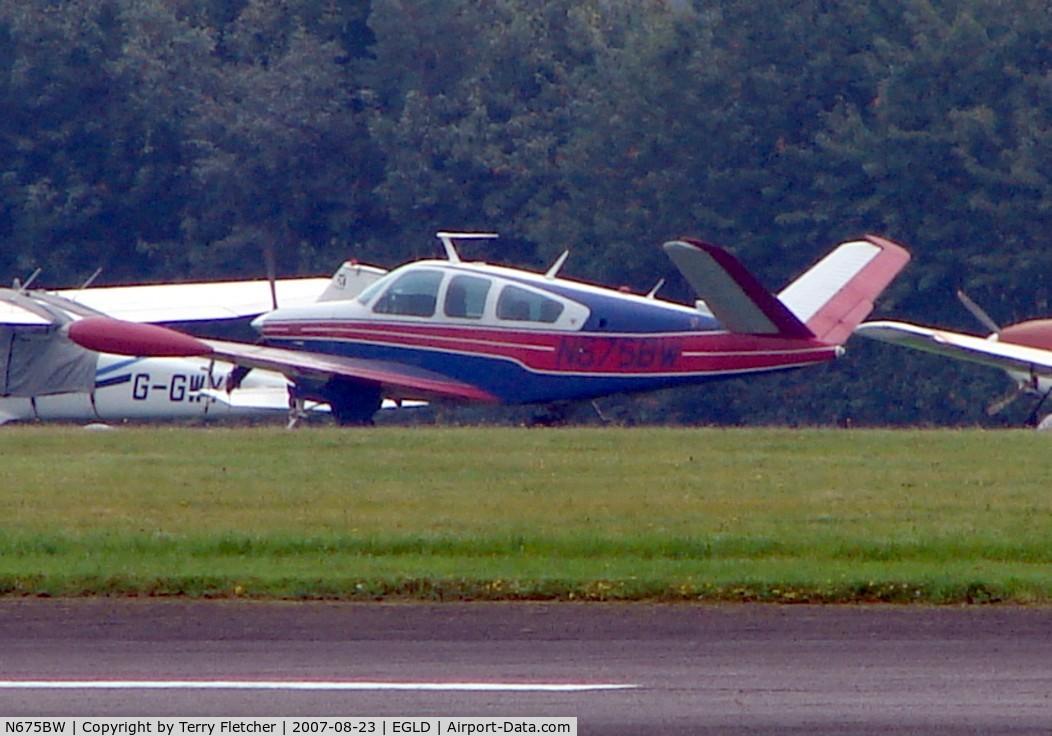 N675BW, 1978 Beech V35B Bonanza C/N D-10134, Beech Bonanza
