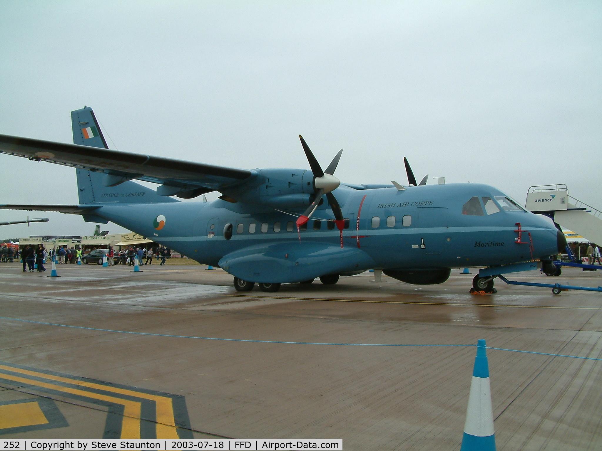 252, 1994 Airtech CN-235-100M C/N C085, Royal International Air Tattoo 2003