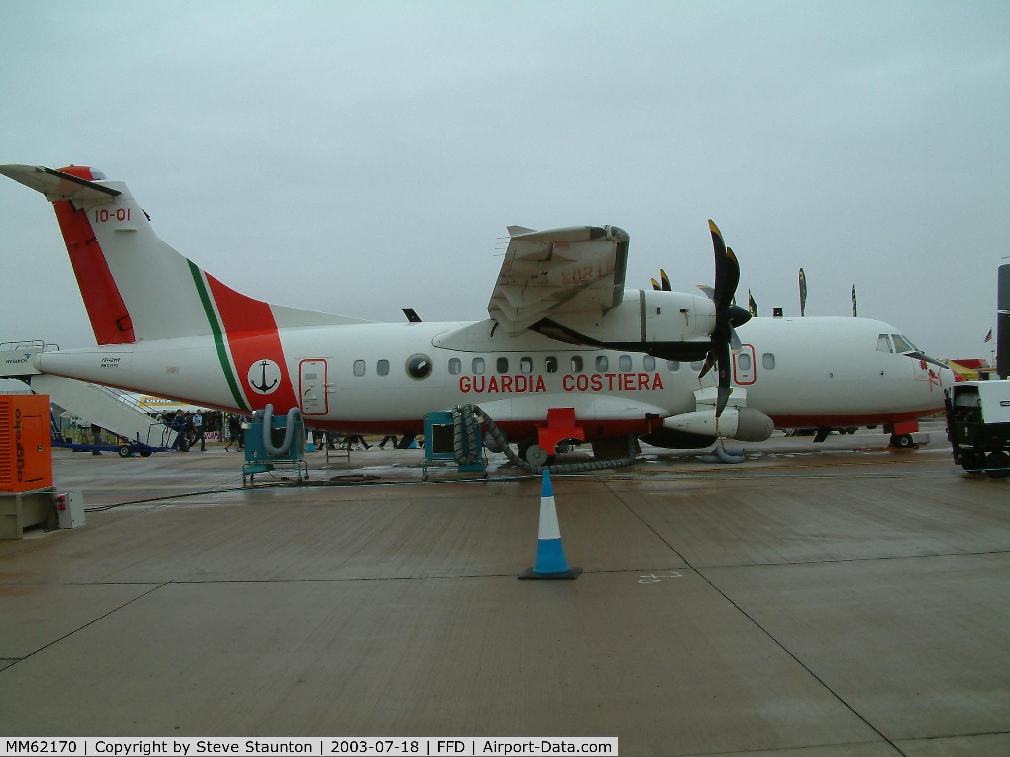 MM62170, 1995 ATR 42-420MP C/N 466, Royal International Air Tattoo 2003