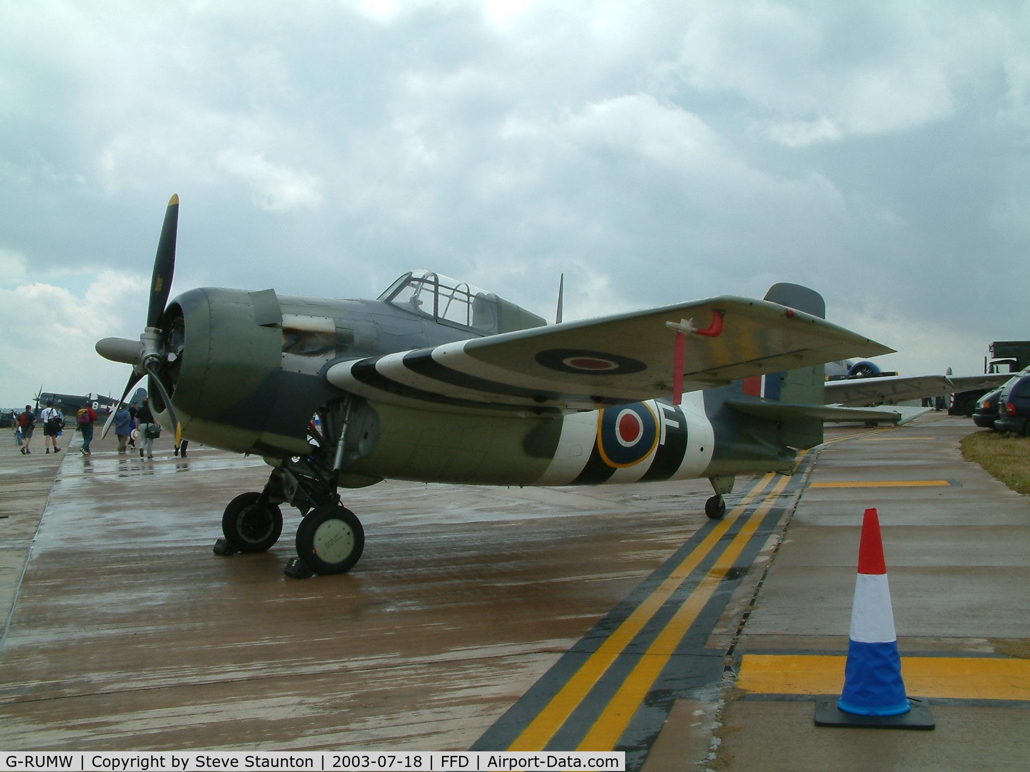 G-RUMW, 1944 General Motors (Grumman) FM-2 Wildcat C/N 5765, Royal International Air Tattoo 2003
