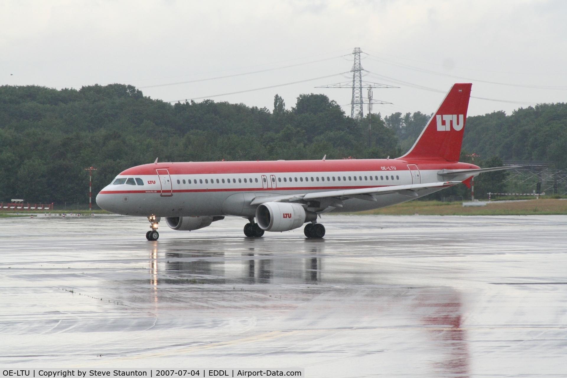 OE-LTU, 2001 Airbus A320-214 C/N 1504, Taken at Dusseldorf July 2007