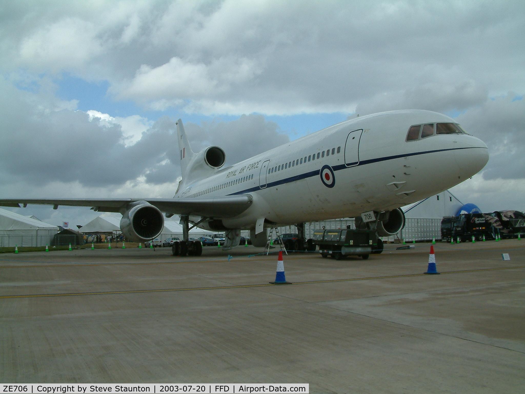 ZE706, Lockheed L-1011-385-3 TriStar C2 (500) C/N 193Y-1177, Royal International Air Tattoo 2003